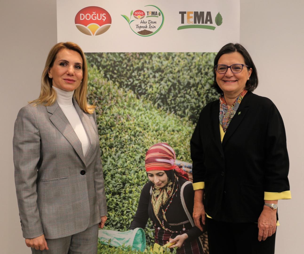 Doğuş Çay ve TEMA Vakfı'nın anlamlı projesi devam ediyor