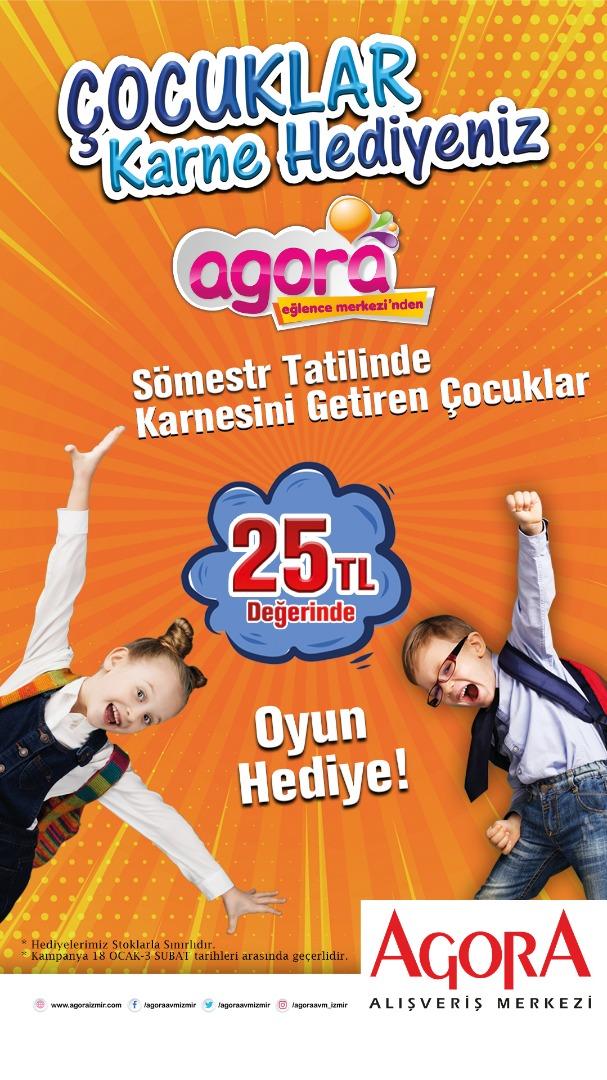 Minikler Agora'da sömestr tatilinde hem kazanacak hem eğlenecek