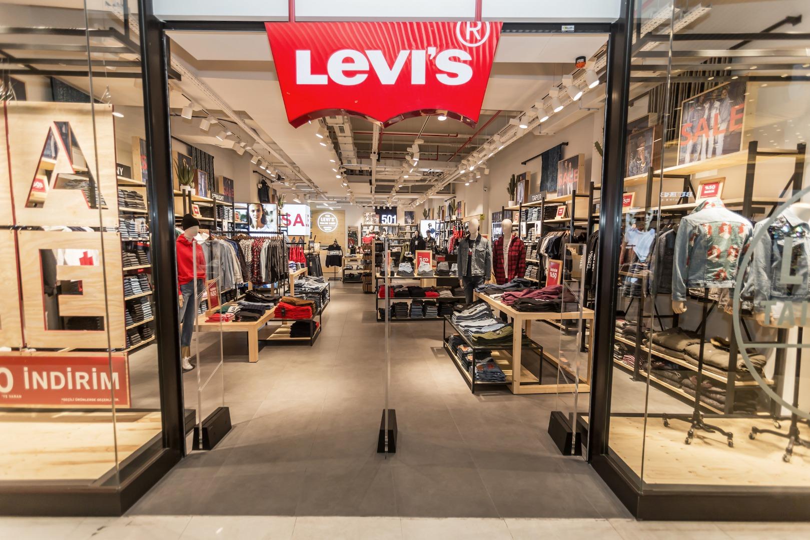 Levi's'ın konsept mağazasının adresi Zorlu Center oldu