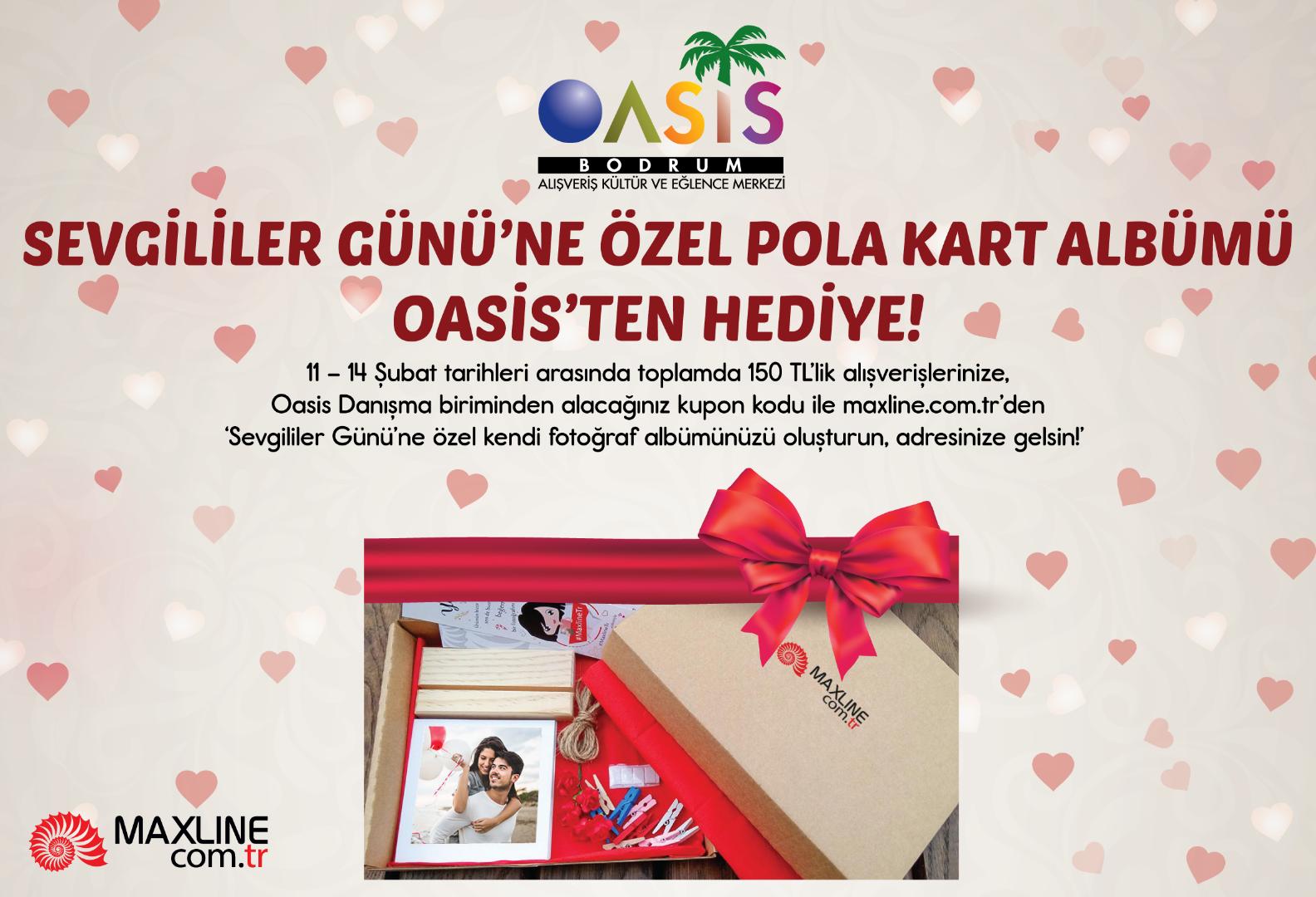 Oasis Sevgililer Günü'nde Pola Kart albümü hediye edecek