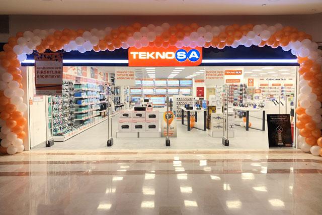 Teknosa'nın 203'üncü mağazası kapılarını açtı