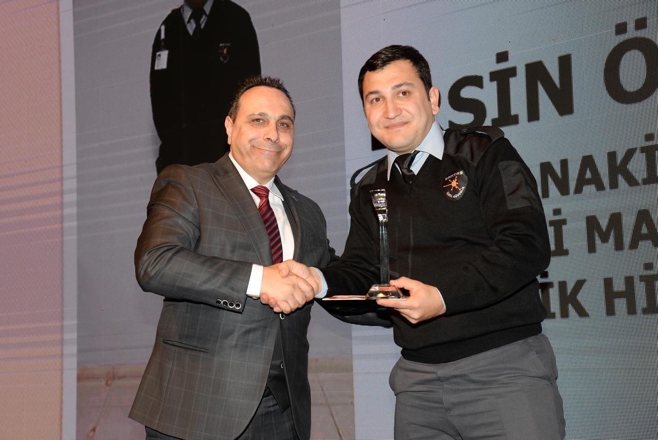 Çetin Güvenlik GÜSOD'da iki ödül birden kazandı