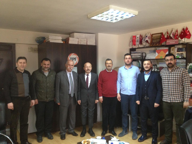 Karadeniz PERDER'de Osman Kalafat güven tazeledi!