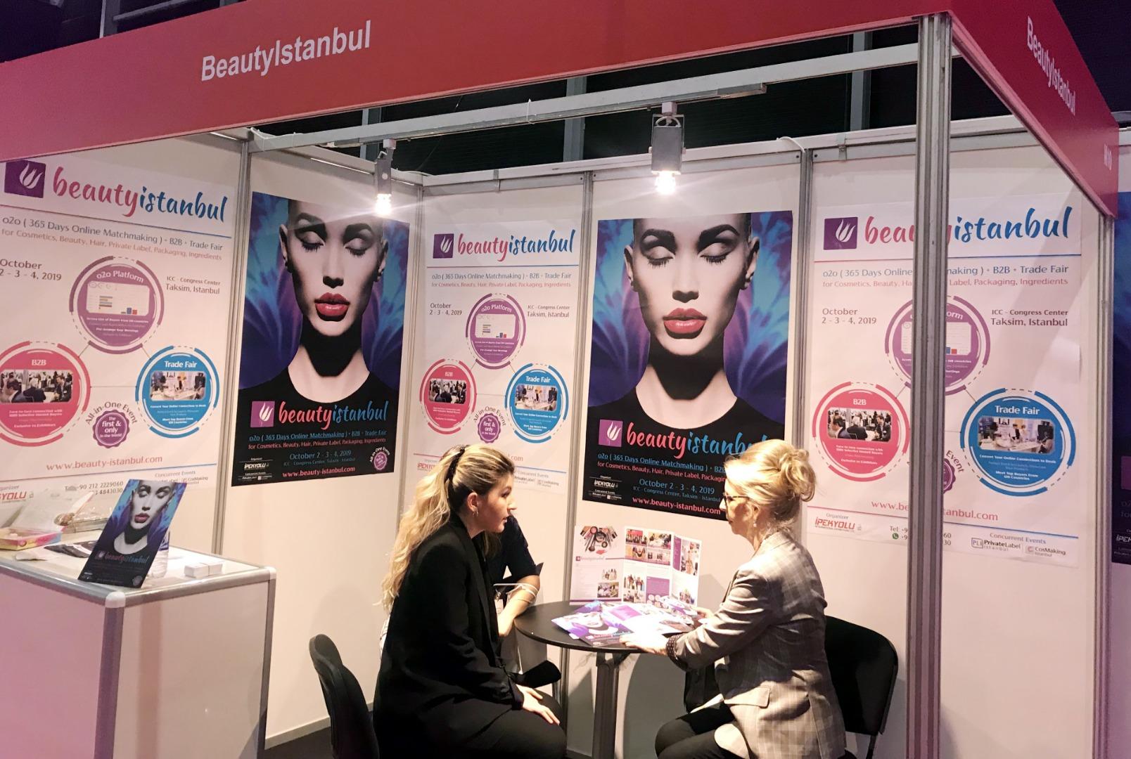 Beauty İstanbul etkinliği 3'ü 1 arada konsept sunacak