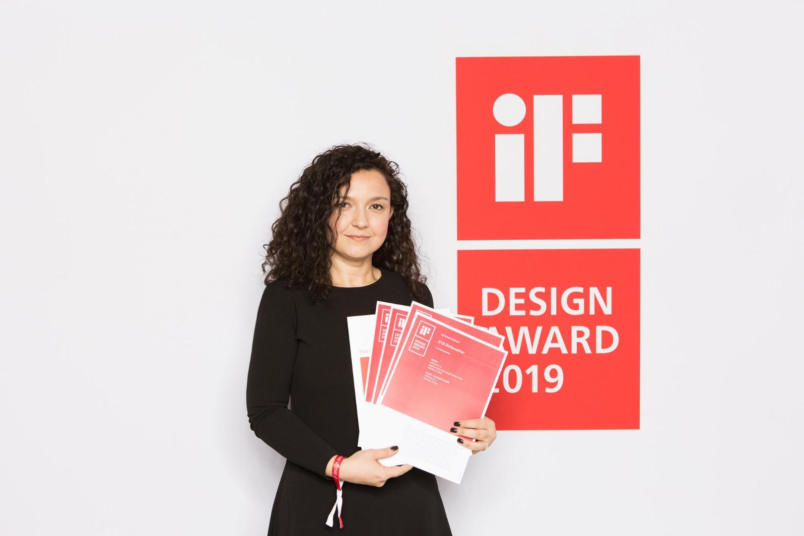 Arçelik tasarımları iF Design'dan 4 ödülle döndü