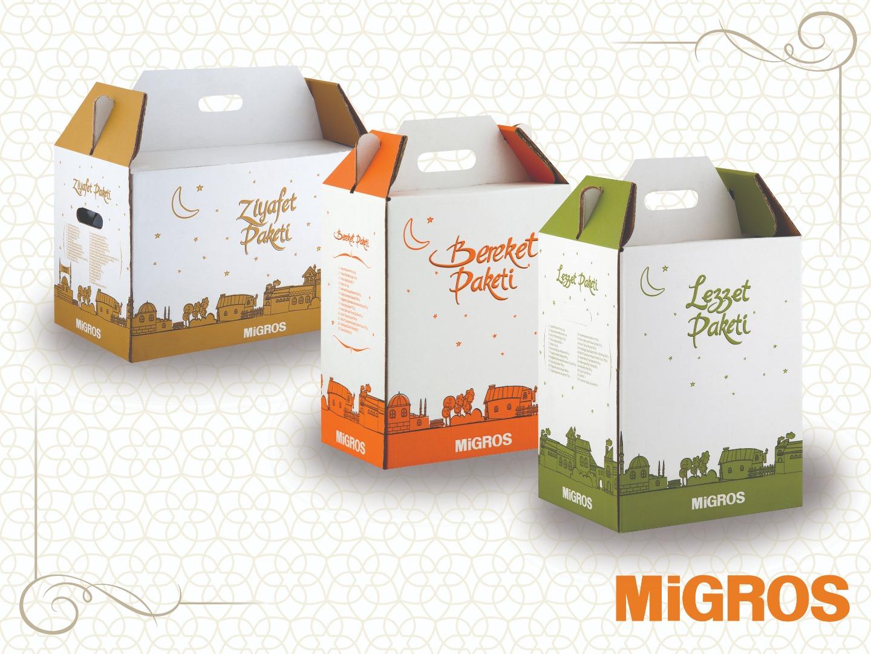 Ramazan ayında Migros kolileri 3 farklı çeşit sunuyor