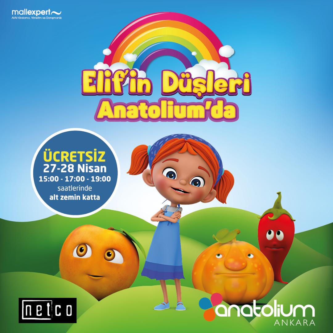 """Anatolium Ankara """"Elif'in Düşleri""""ne sahne olacak"""