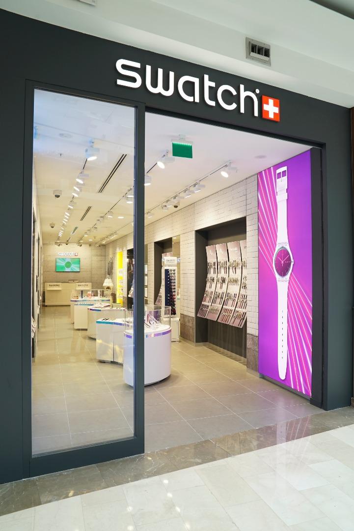 Swatch en çok çeşit sunan mağazasını İstinye Park'ta açtı