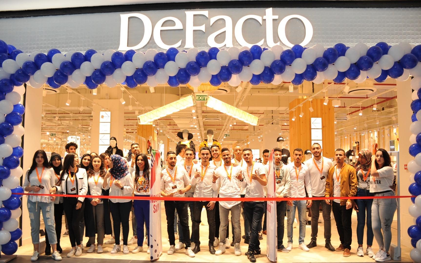 DeFacto Fas bölgesinin moda öncüsü olmaya aday