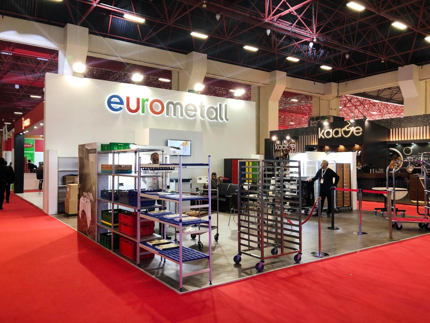 Eurometall gıda sektörüyle Bursa Gıda Fuarı'nda buluşacak