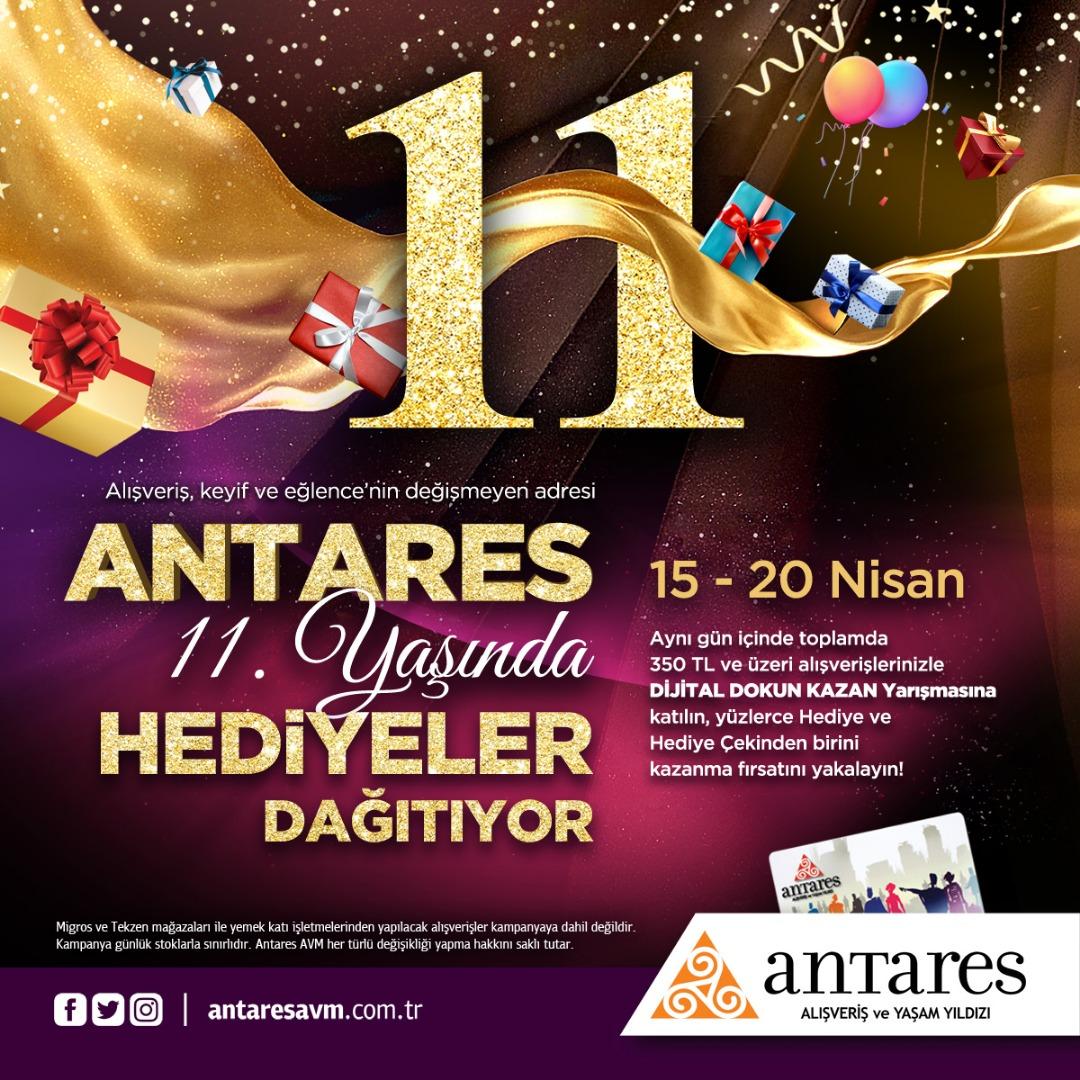 Ankara'nın yıldızı 11'inci yaşını kutladı