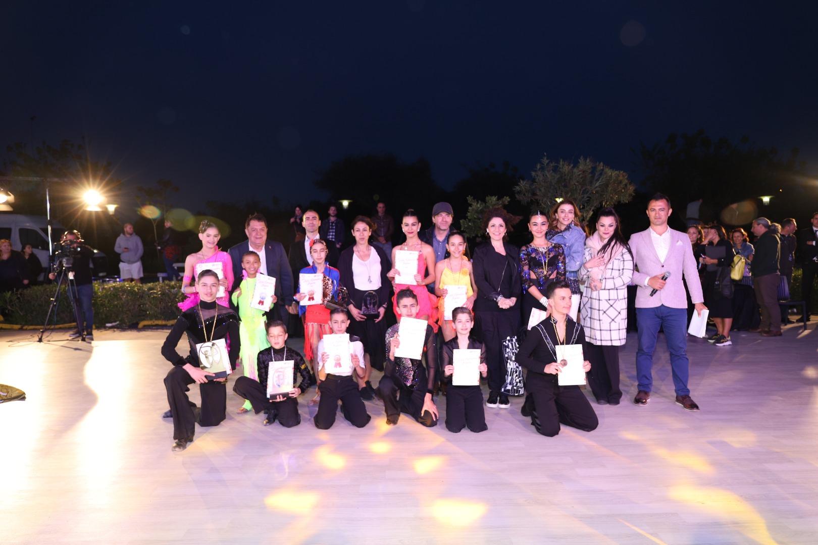 Latin Dansları Kupası'nda görsel şölen yaşandı