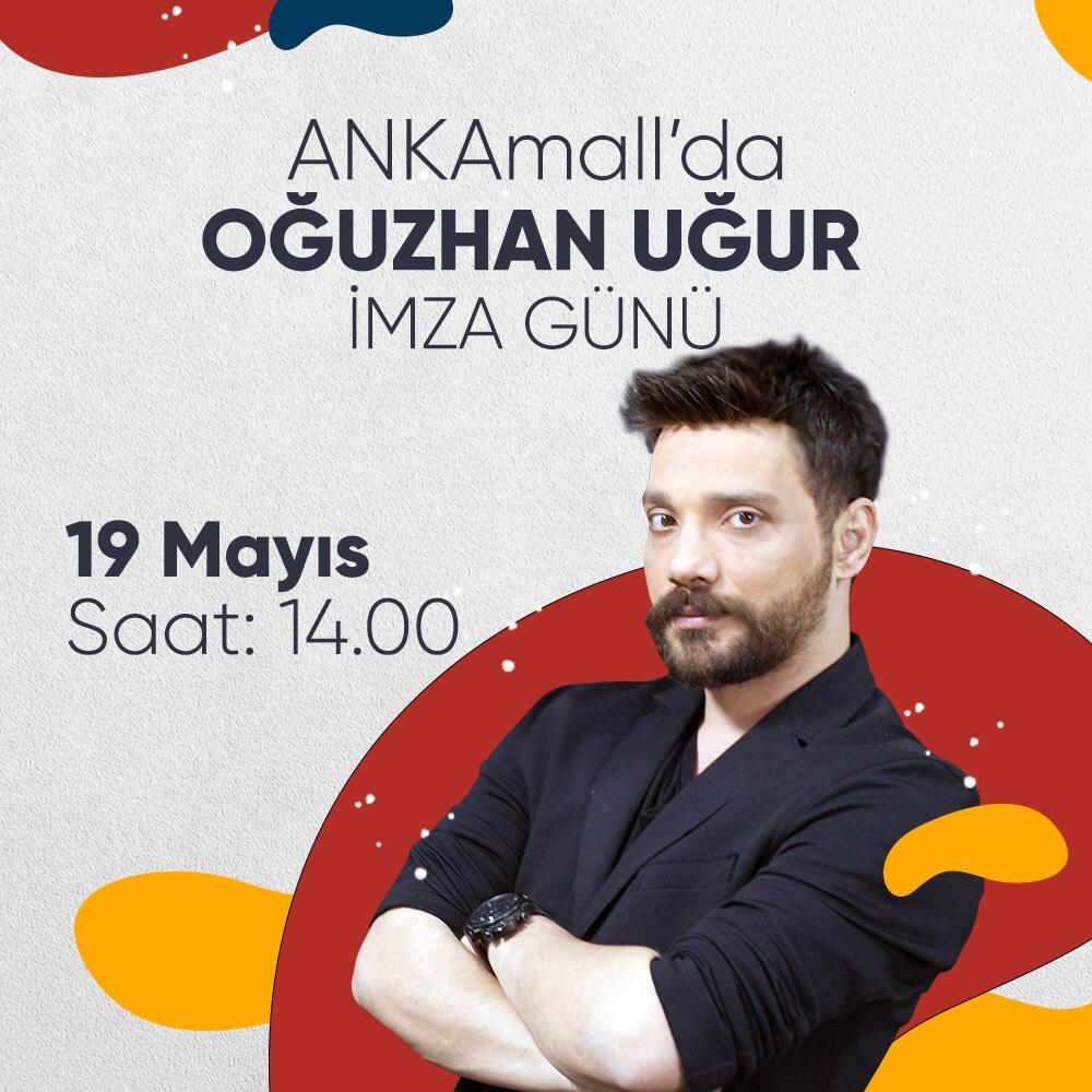 19 Mayıs ANKAmall'da Oğuzhan Uğur'la kutlanacak
