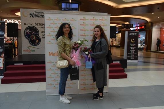 Malatya Park Anneler Günü'nde pırlanta kazandırdı