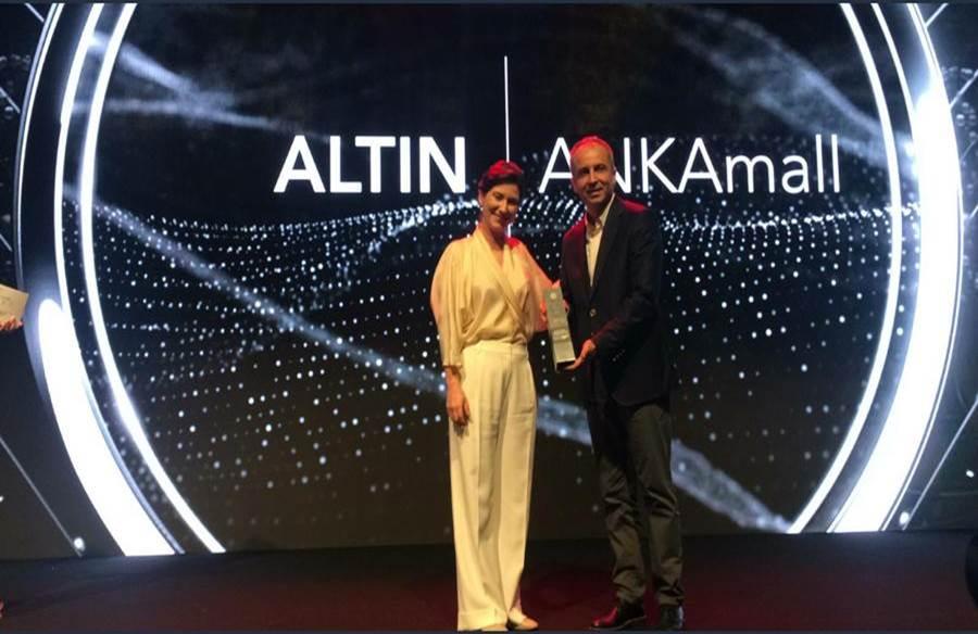 ANKAmall 3'üncü kez 1'incilik ödülüne layık görüldü
