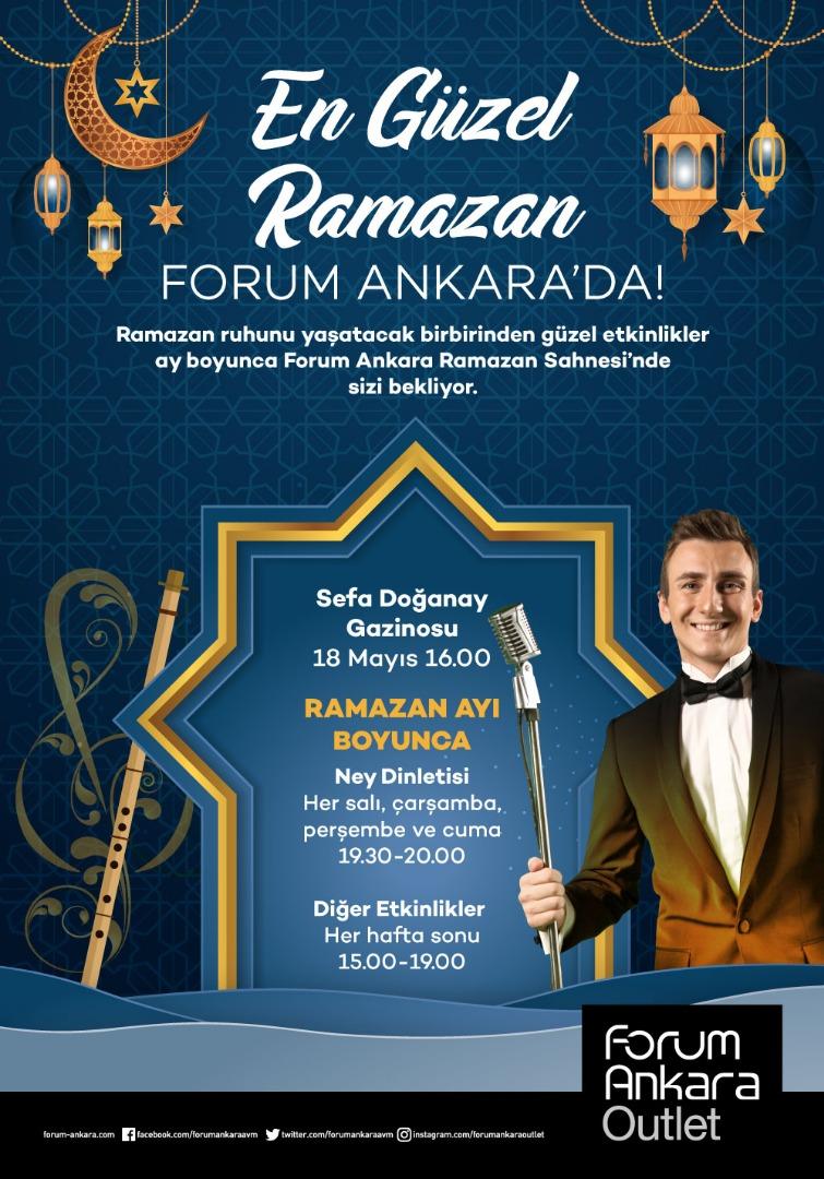 Ramazan Forum Ankara'da geleneksel gösterilerle geçecek