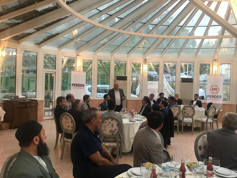 İstanbul PERDER üyeleri iftar programında bir araya geldi