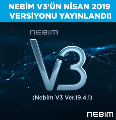 Nebim V3'ün Nisan ayı versiyonu yayınlandı
