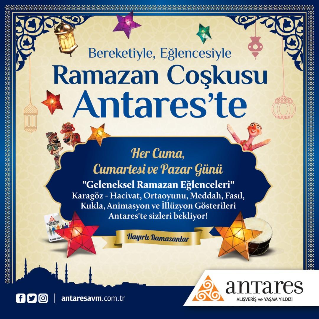 Ramazan'ın geleneksel eğlenceleri Antares'te gerçekleşiyor