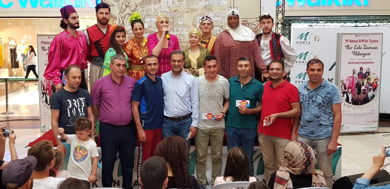 """""""Bir Eski Zaman Hikayesi"""" M1 Konya'da sahnelendi"""