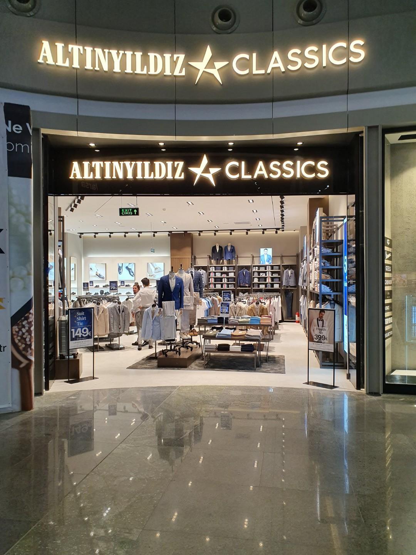 Altınyıldız'ın yeni mağazası İstanbul Havalimanı'nda açıldı