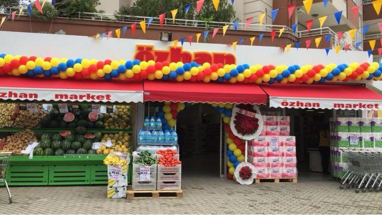 Özhan Market zincirine yeni halka ekleyecek