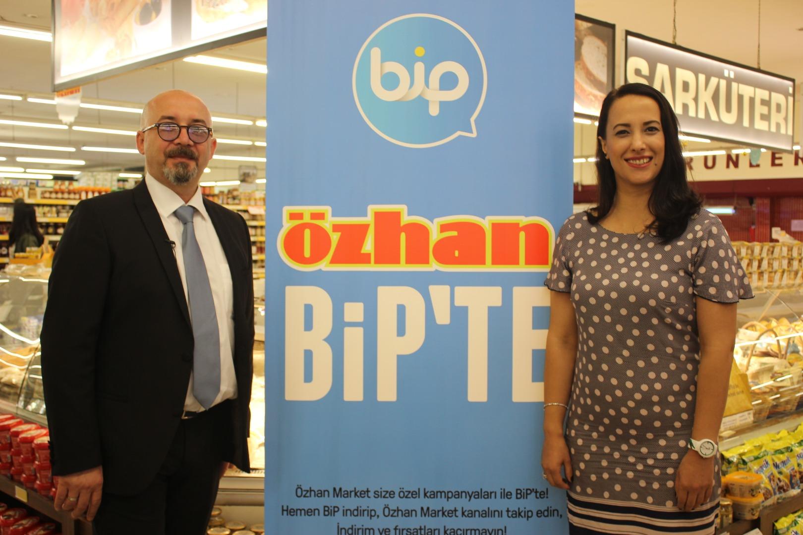 Özhan Market dijital dönüşümünü BiP'le gerçekleştirecek