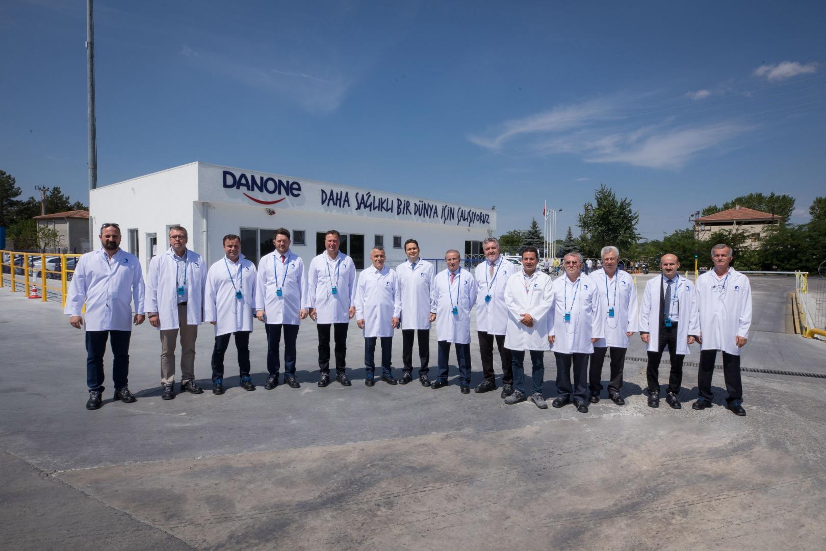 Danone Türkiye Lüleburgaz tesislerini yeniledi