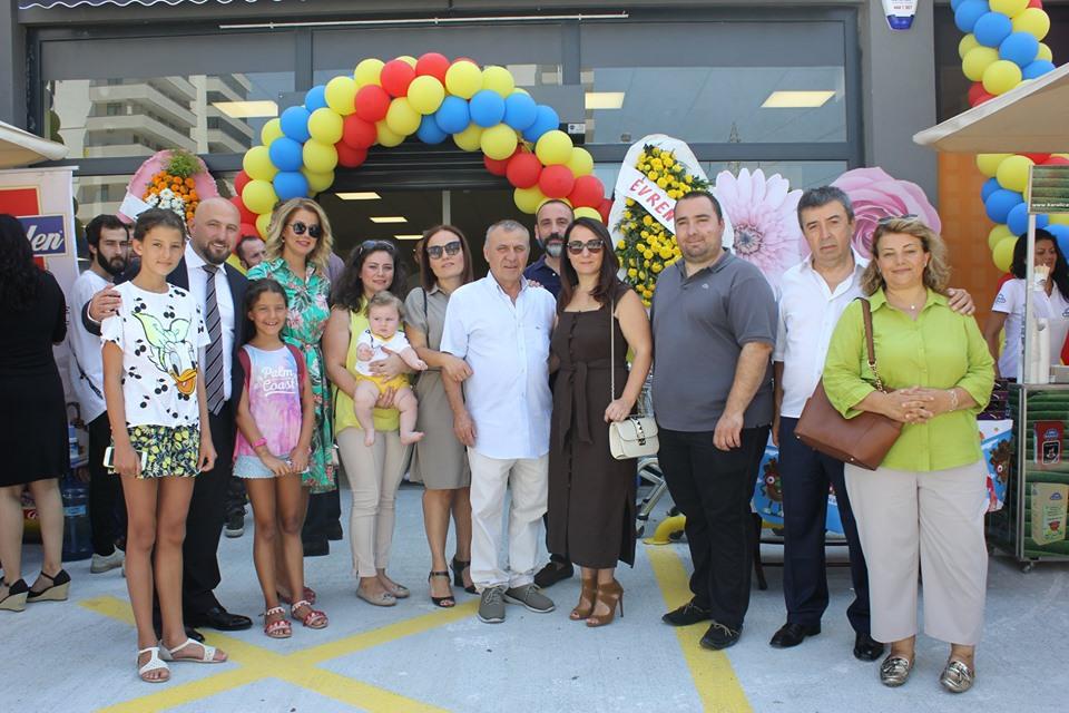 Özhan'ın 23 Nisan Mahallesi'ndeki 2'nci şubesi kapılarını açtı