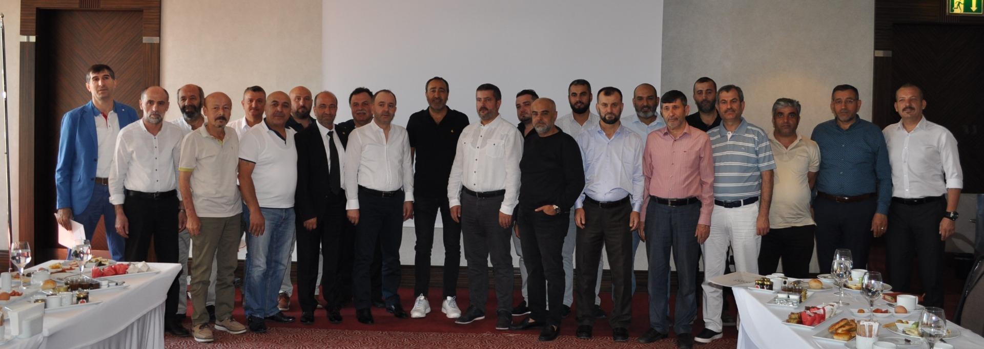 TPF Yönetim Kurulu, Bursalı perakendecileri ziyaret etti