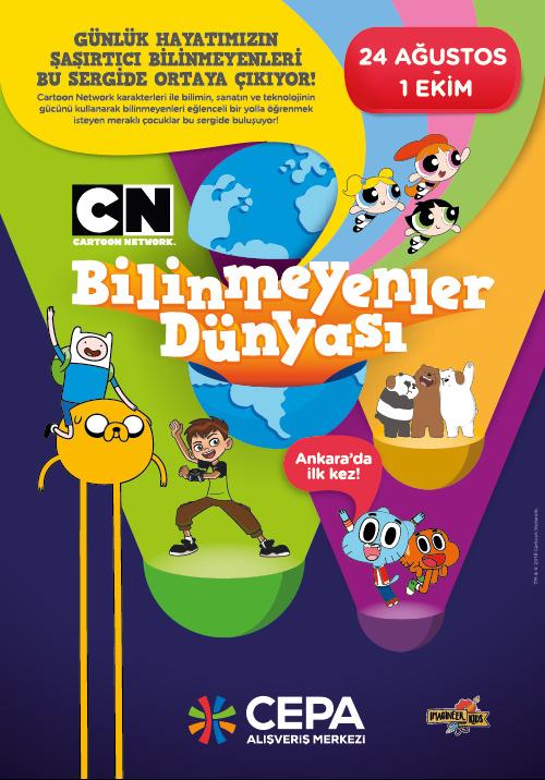 Cartoon Network Ankara'da ilk kez Cepa'ya gelecek