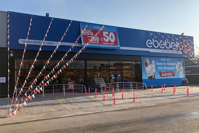 Düzce'nin ilk ebebek mağazası açıldı
