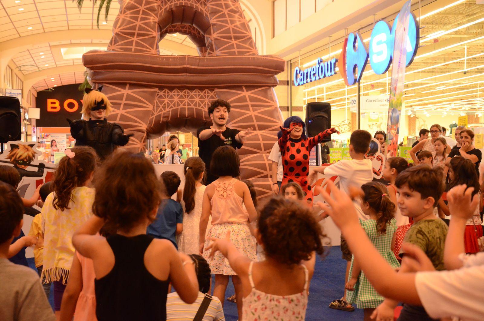 Minikler M1 Adana AVM'nin etkinliğiyle eğlendi