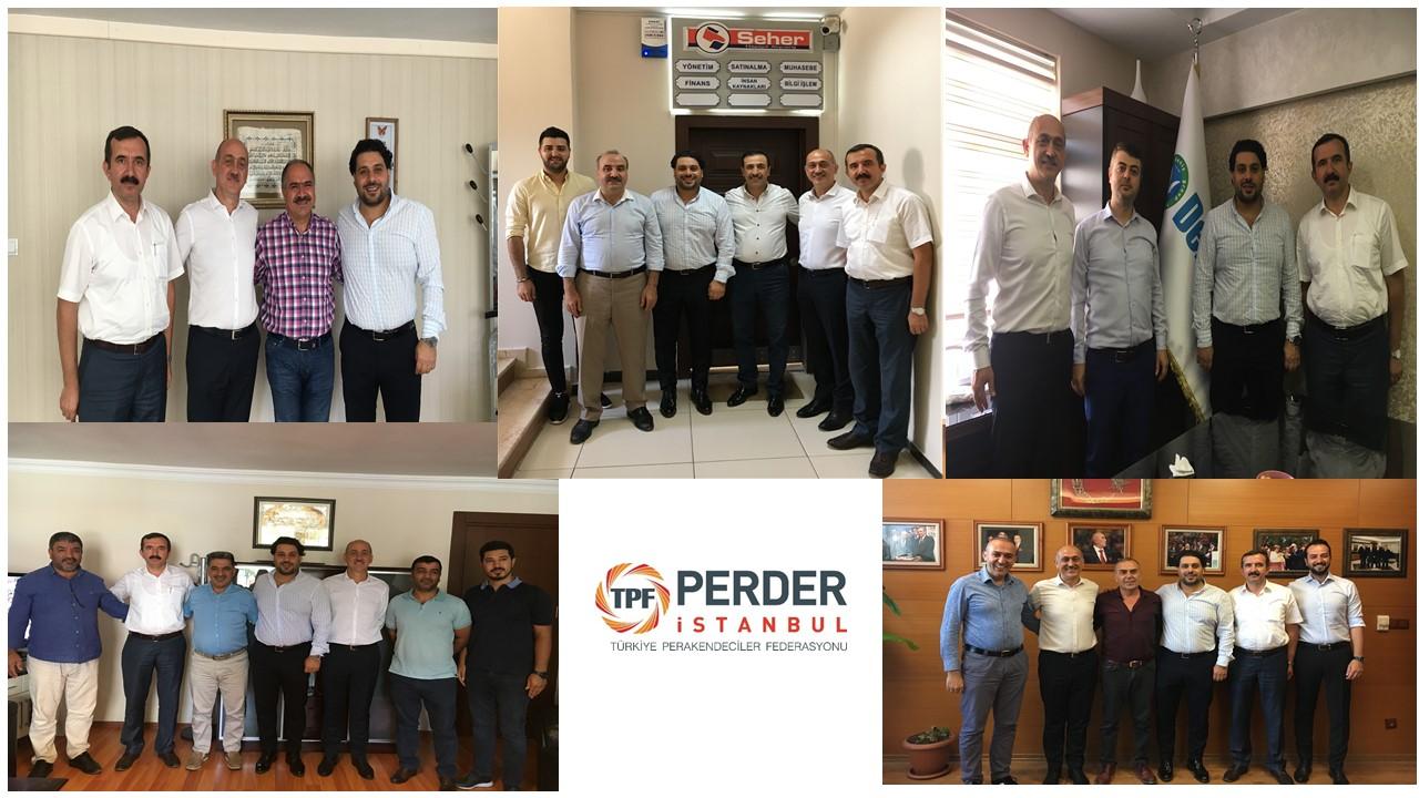 İstanbul PERDER yeni dönem üye ziyaretlerine başladı