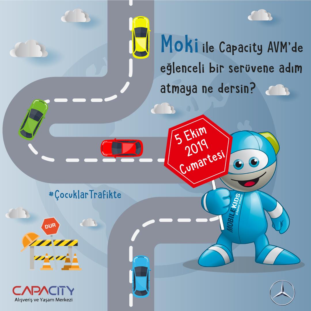 Mercedes-Benz Türk 'ün Çocuklara Özel Trafik Etkinliği'ne Capacity ev sahipliği yapacak