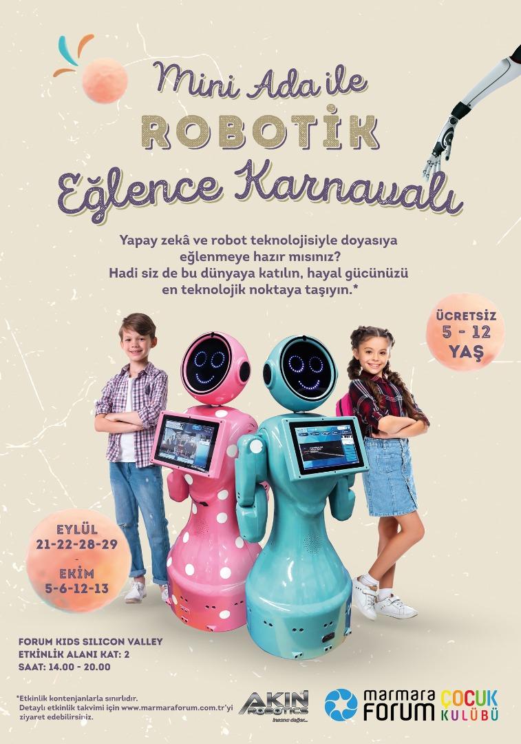 Marmara Forum çocukları yarının dünyasıyla buluşturuyor