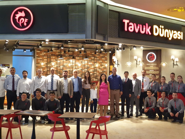 Başkent'e 2 yeni Tavuk Dünyası daha açıldı