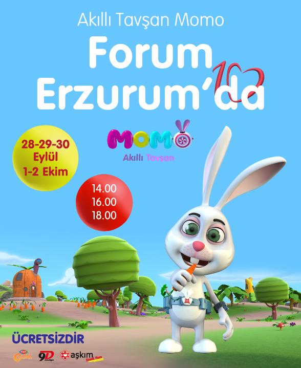 TRT Çocuk'un sevimli kahramanı Forum Erzurum'da
