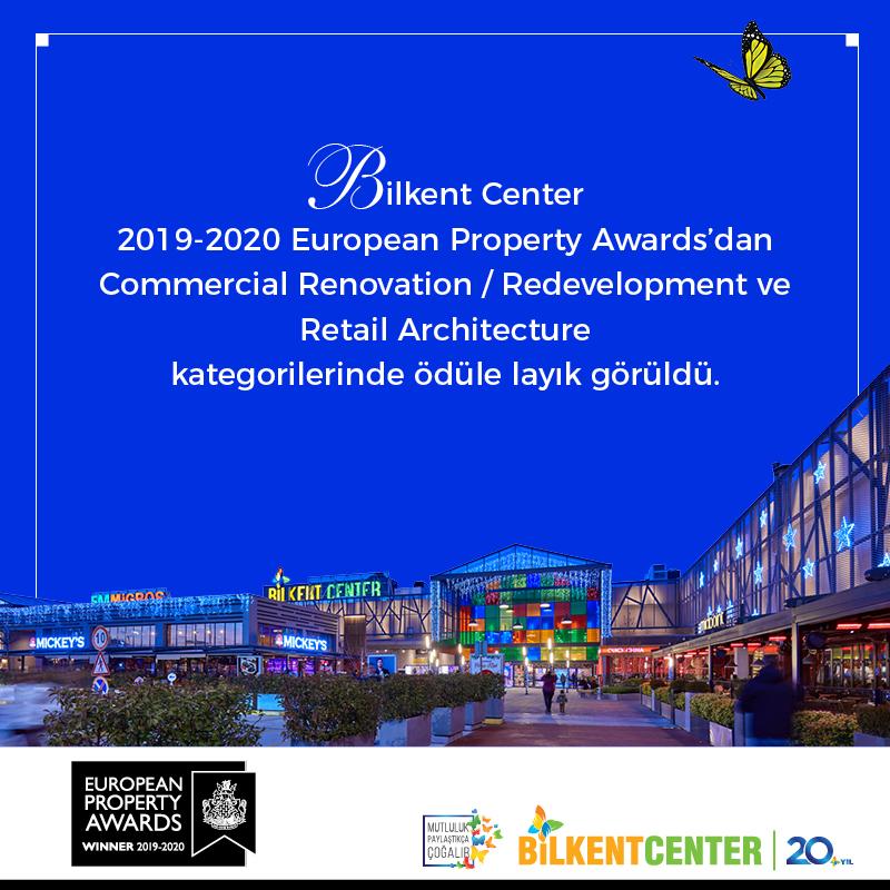 Bilkent Center 2 uluslararası ödül kazandı