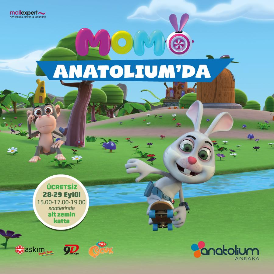 Anatolium Ankara'nın konuğu Akıllı Tavşan Momo olacak