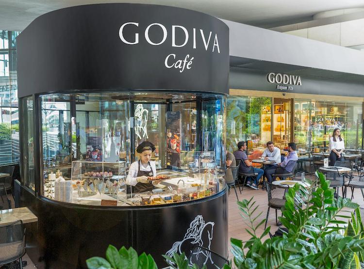 Godiva Zorlu'da Belçika çikolatasıyla farklı lezzetler sunuyor