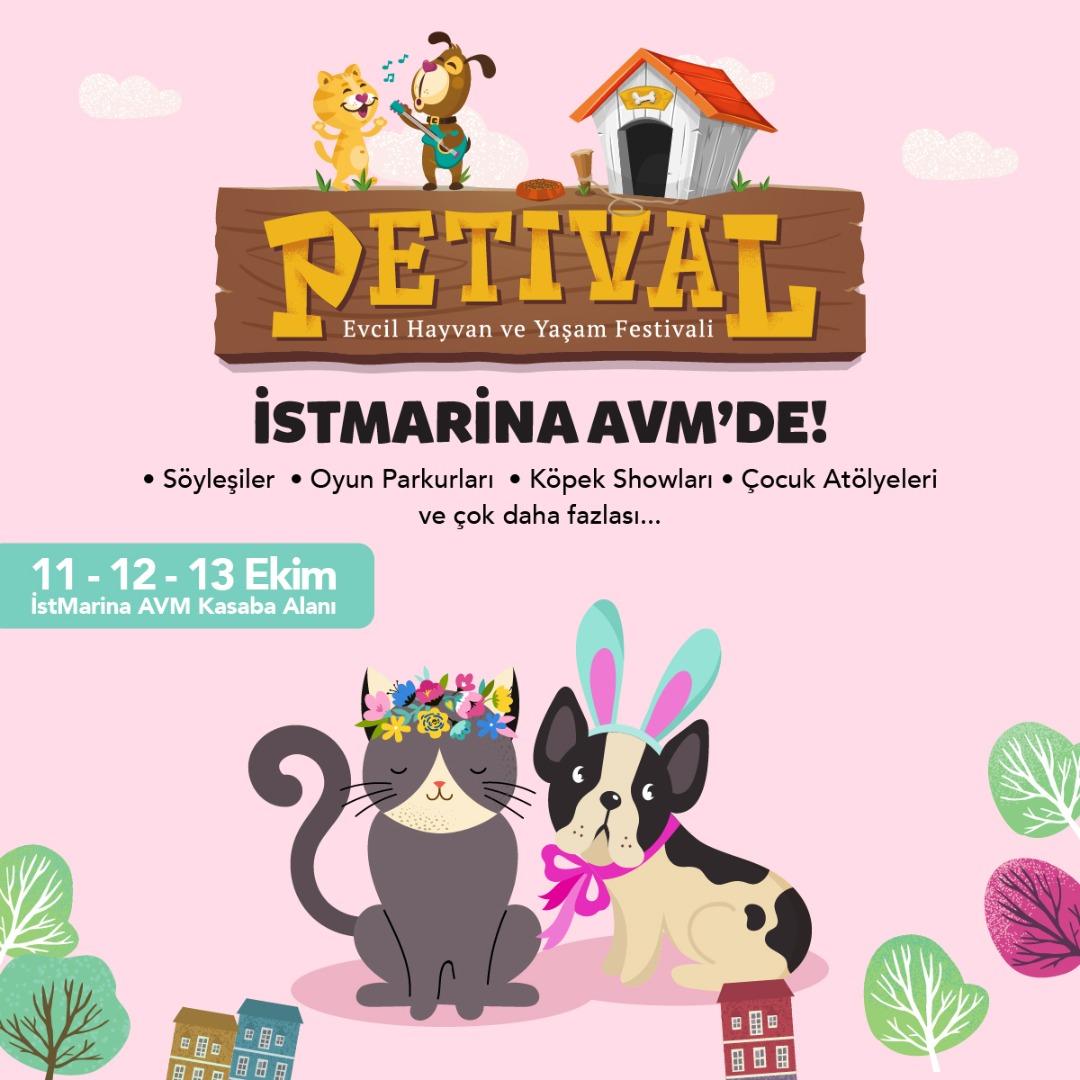 Hayvanseverler Petival Festivalinde buluşuyor