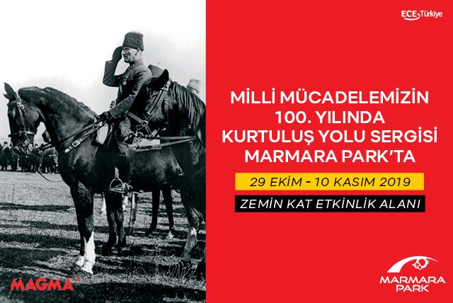 Kurtuluş Yolu Sergisi Marmara Park'ta