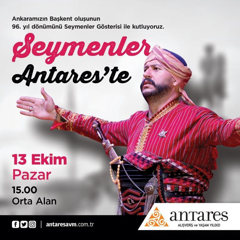 Ankara'nın Seymenleri Antares'de