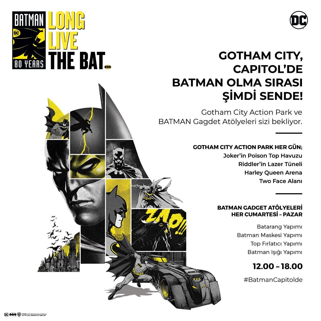 Batman 80 yaşına İstanbul'da giriyor