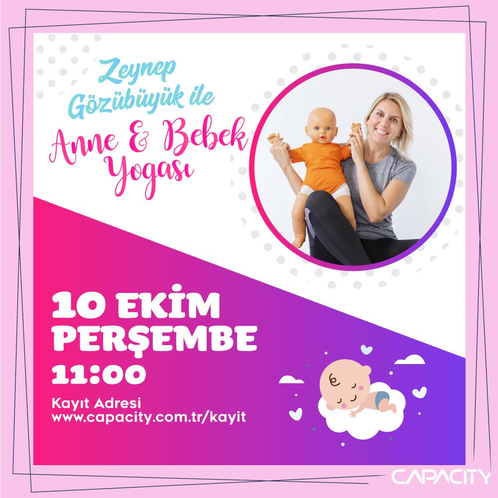 Anne & Bebek Yogası Capacity AVM'de