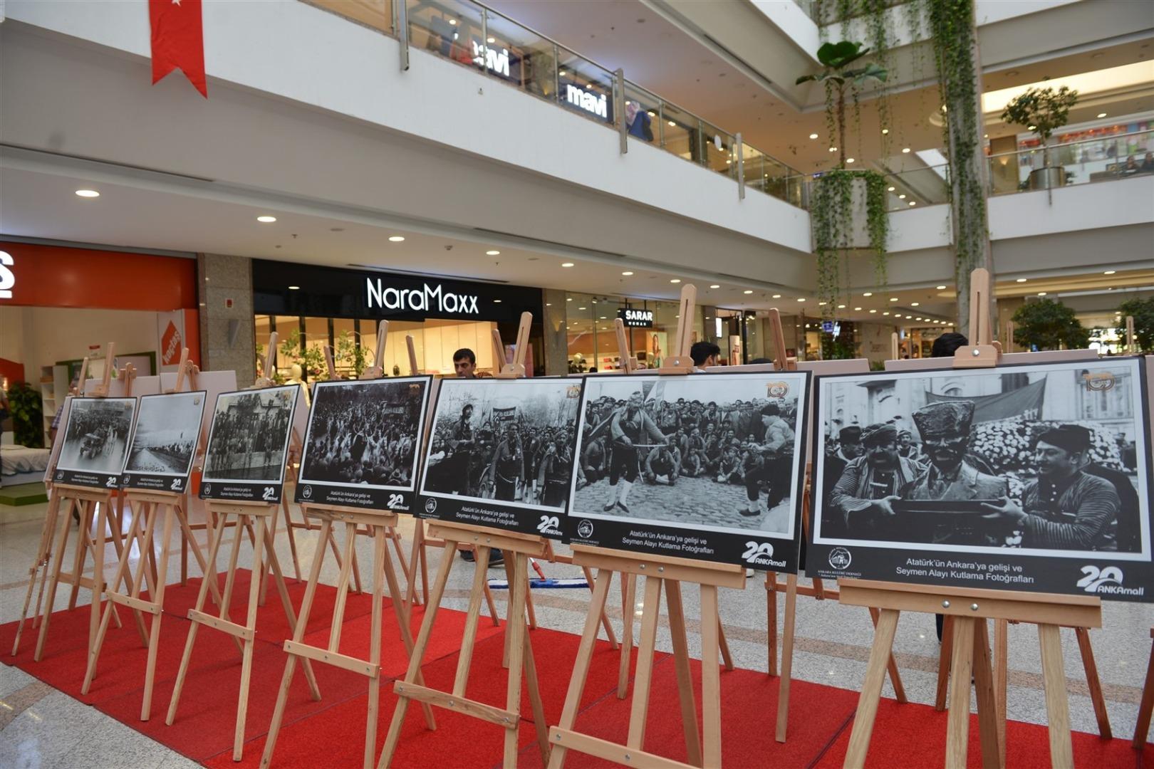 Atatürk'ün Ankara'ya gelişinin yıl dönümü kutlandı