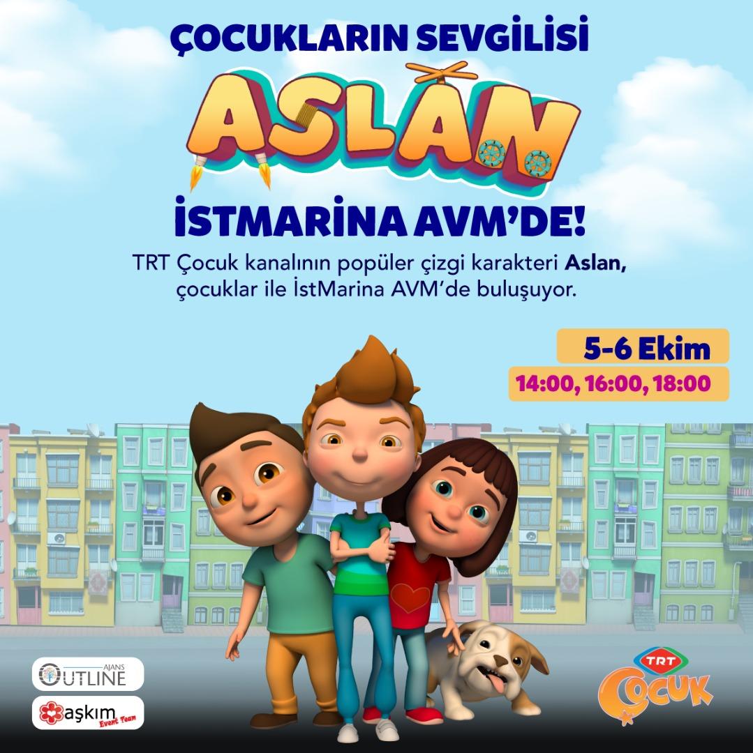 Çocukların kahramanı 'Aslan' İstMarina AVM'ye geliyor