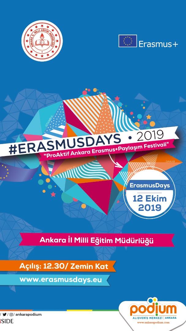 ProAktif Ankara Erasmus paylaşım festivali
