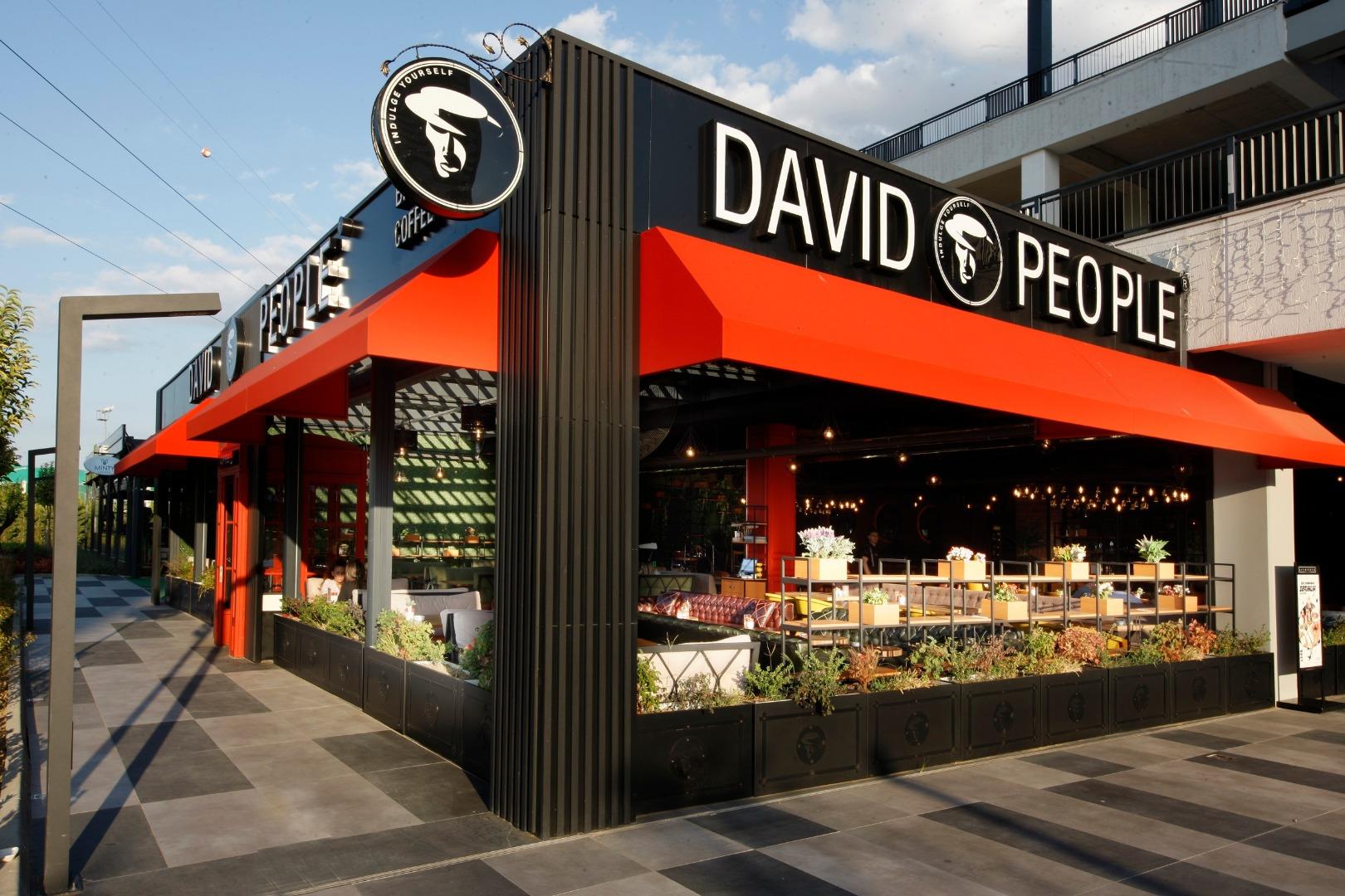David People Yaşam ve Eğlence Merkezi Parkora AVM'de